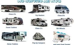 Are you in need of Motorhome, RV, or Trailer Repairs? We can