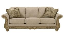 Ashley Sofa Set + Coffee Table + 2 End Tables