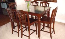 Ashworth 7 Piece Counter Height Dining Set