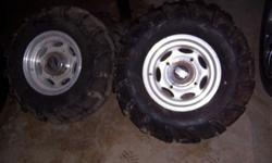 ATV rms and tires (4)