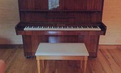 Authentic Russian Piano & Piano Bench