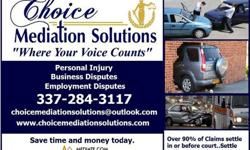 Auto Insurance Claims - Mediation Services