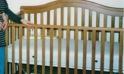 Baby Crib / Bed & Dresser Furniture Set
