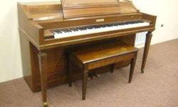 Baldwin Acrosonic Spinet Piano 36 inches 1967 serial #843901