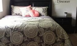 Barely Used Still NEW Queen Bedroom Set