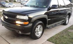 BEAUTIFUL ONYX 2003 Chevrolet Suburban z71 4x4
