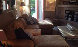 Big Comfy Couch and Chair For Sale