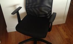 Black Office Chair, Modern Look, Super Comfortable