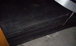 Black Rubber Mats / Gym Flooring