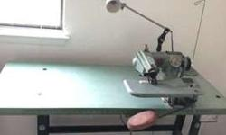 Blind Stitch Machine Corp Hemmer w/ table