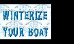 Boat Storage, Shrink-wrapping and Winterization