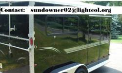 BPl 2002 Sundowner 2 horse trailer Black