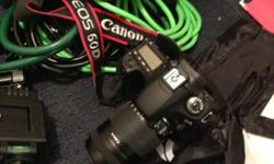 Canon EOS 60D Camera & Tripod Set MINT