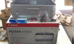 Canon PIXMA MX860 All-In-One Inkjet PC Color Computer