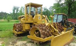 Caterpillar 815 F Soil Compactor -Construction-4940 Hours
