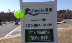 Cecils Mill Self Storage 1st 3 Months 1/2 off
