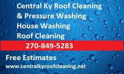 Central Ky Roof Cleaning & Pressure washing