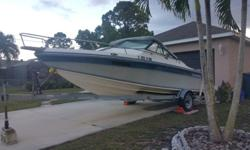 Chaparral boat 1987 198 C XL with cabin, 19Ft, Mercruser