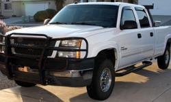 Chevy 2500HD LLY Duramax 4x4, Crew Cab w/long bed & Tow