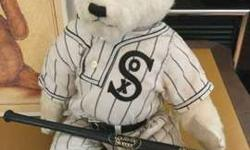 Chicago White Sox 1917 Liited Edition Cooperstown Bear with
