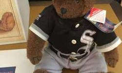 Chicago White Sox 1993 Liited Edition Cooperstown Bear with