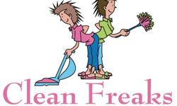 Clean Freaks Cleaning & Moving Services