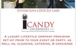 Cleaning, Catering, & Concierge Services for Events &