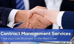 Contract Management Services by Cogneesol