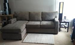 """Couch Sofa Soft But Firm Light Green/Grey with"