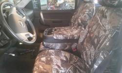 Coverking Custom Camo Truck Seat Covers
