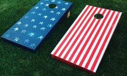 Custom Corn Hole Boards (Bean bag toss)