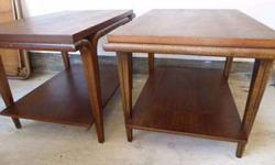 Danish Modern End Tables
