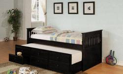 Daybed w/ trundlebed and storage! AND MATTRESSES!**BRAND