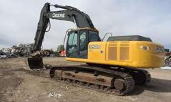 Deere 350d Lc with Thumb