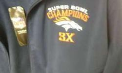 Denver Broncos Three time SUPER BOWL CHAMPIONSHIP l jacket