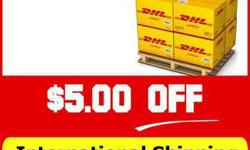 DHL Shipping Discount Coupon