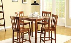 Dining Set (Table and 4 Chairs)