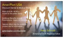 Discount Dental and Healthcare Plans from Ameriplan