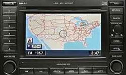 Dodge Chrysler Jeep New Update navigation dvd rec/rb1 VER.