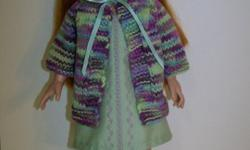 Doll Jumper, Sweater & Headband for 18 inch doll