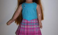 Doll Skirt & Top for 18 inch doll such as American Girl