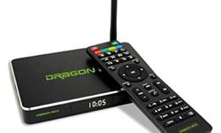 Dragon Box /Media Streaming Box NEW QUAD CORE - FREE TV,