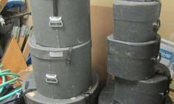 Drum Cymbal and Hardware cases - several to choose from