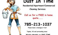 DUST IN TIME- Residential-Apartment-Commercial Cleaning