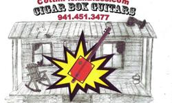 Electric Cigar Box Guitars