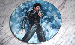 Elvis Presley Collectibles Plate