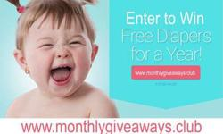 Enter to WIN FREE DIAPERS for 1 Year