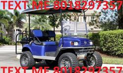 ew....2 0 0 9 EZgo Golf Cart with Trailer!!...u.h