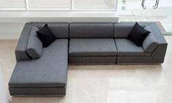Exclusive Hans Waël Modern Sectional