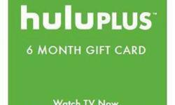 Extend HULU PLUS 6 months for half the price! (Email